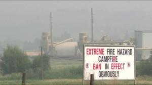 BC Wildfires: Ottawa sending troops to help fight fire
